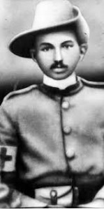 gandhi in south african army