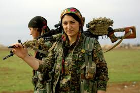 kurd fighters