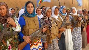 kurd women fighters