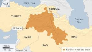 kurds surrounded by iran, iraq, syria and turkey