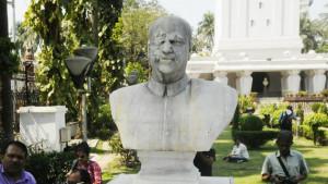 dr ambedkar's statue broken in   aligarh