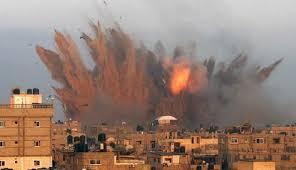 israeli bombin gaza