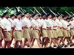 rss workers parading