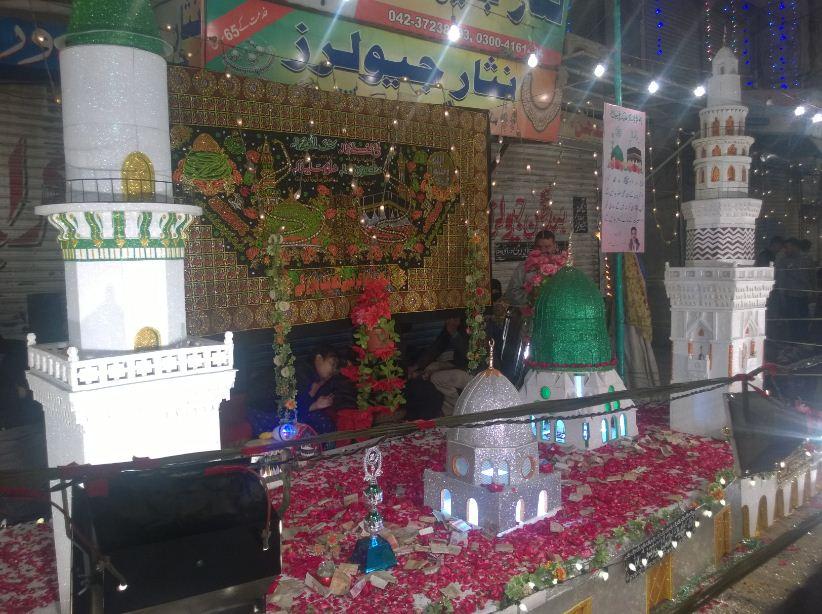 Masjid-e-Nabvi Model