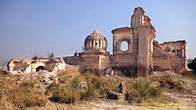 Sikh gurdwara located just 5 km from Jati Umra. Picture credits: Hadeed Sher