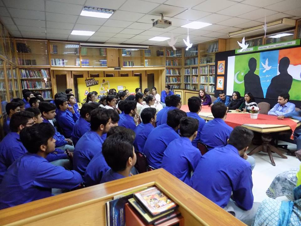 Interaction at resource academia school