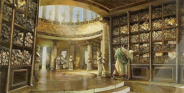 فرعونوں کے محلوں میں کتب خانے؟